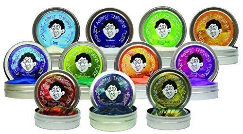 Crazy Aaron's 11 Pack Putty Mini Tin Assortment.