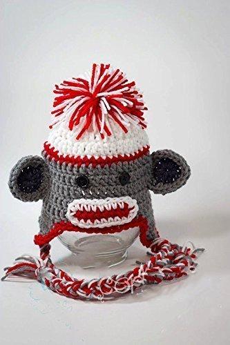 Amazoncom Crochet Monkey Hat Handmade