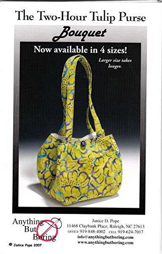 Amazon.com: The Two-Hour Tulip Purse Sewing Pattern: Arts, Crafts ...