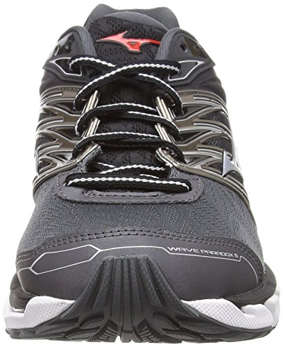 Hombre Red darkshadow Paradox Negro silver De Para fiery Zapatillas 5 03 Wave Running Mizuno qpC0x7F