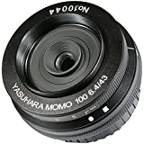 Yasuhara MO100NF 43-43mm f/6.4-22 Fixed Prime MoMo 100 Soft Focus Lens for Nikon DSLR, Black