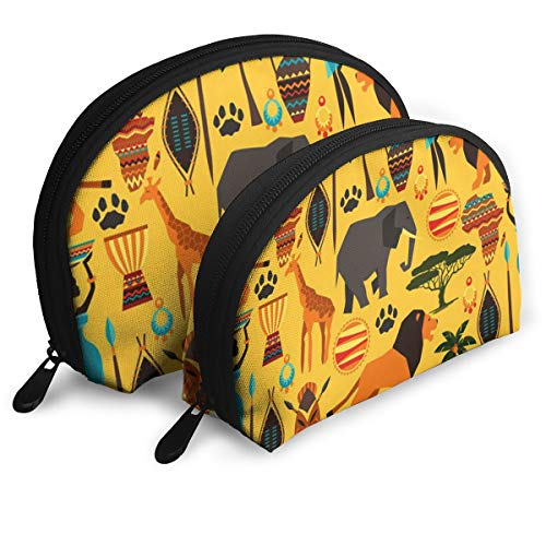 Child Goods Africa Zoo Animals Multi-Functional Portable Bags Clutch Pouch ()