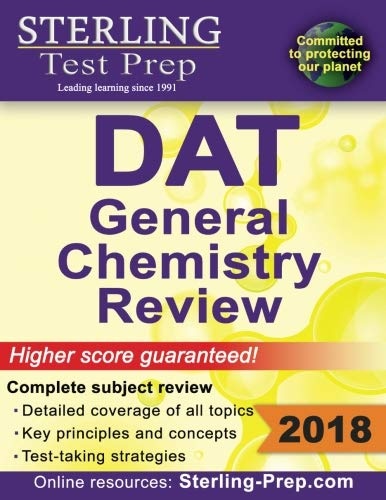 Sterling Test Prep DAT General Chemistry Review: Complete Subject Review