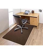 Twarda mata podłogowa krzesło biurowe ochrona przed przesuwaniem dywan, wielofunkcyjny niski włos antypoślizgowy dywan z twardego drewna maty na biurko do biura domowego ganku