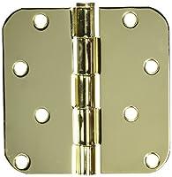 Mintcraft Bh-402pb3L Hinge Rad Cor 4x4 Pol Brass