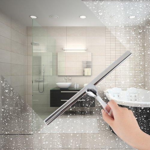 ilikable Shower Mirror Squeegee Stainless Steel Bathroom ...