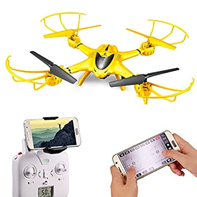 Holy Stone X401H-V2 RC Drone with Camera Live Video Wifi FPV Quadcopter with Altitude Hold, Headless Mode Function and APP Control RTF Helicopter for Beginner and Expert, Compatible with 3D VR Headset from Holy Stone