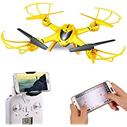 Holy Stone X401H-V2 RC Drone with Camera Live Video Wifi FPV Quadcopter with Altitude Hold, Headless Mode Function and APP Control RTF Helicopter for Beginner and Expert, Compatible with 3D VR Headset