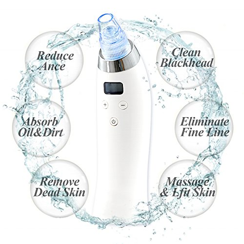 Electronic Blackhead Remover Face Pore Acne Cleaner Tool Fairycity Electric Vacuum Comedo Suction Extractor Microdermabrasion Machines USB Rechargeable