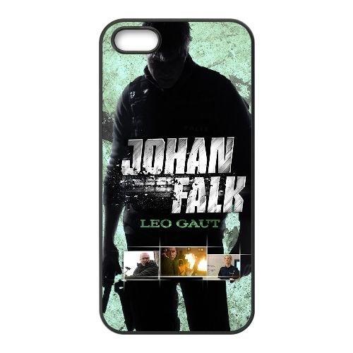 F7N95 Johan Falk Leo Gaut Haute Résolution Affiche L1H4WZ coque iPhone 4 4s cellule de cas de téléphone couvercle coque noire II6EBO5EG