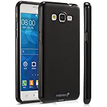 Fosmon Samsung Galaxy Grand Prime Case - (DURA-FRO) Slim-Fit Flexible TPU Gel Case Cover for Samsung Galaxy Grand Prime - Fosmon Retail Packaging (Black)