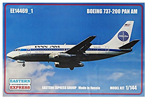 (Eastern Express 1 / 144 Boeing 737 - 200 Pan American Airlines specifications model car EE144691)