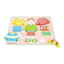 Bigjigs Toys BB056 Dressing Boy Puzzle