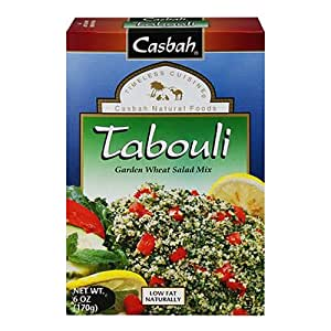 Amazon.com : Casbah Tabouli Mix - 6 oz : Indian Food : Grocery