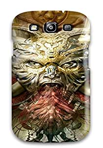 AnnaSanders Scratch-free Phone Case For Galaxy S3- Retail Packaging - Demon