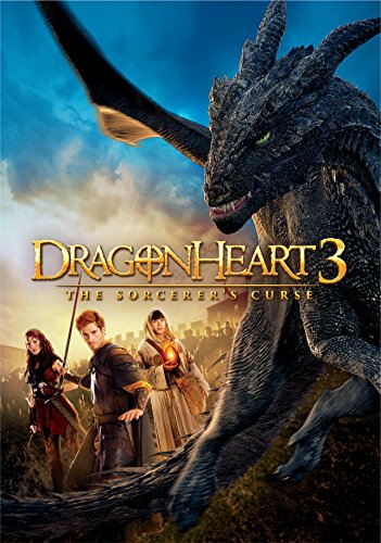 DVD : Dragonheart 3: The Sorcerer's Curse (Snap Case, Slipsleeve Packaging)