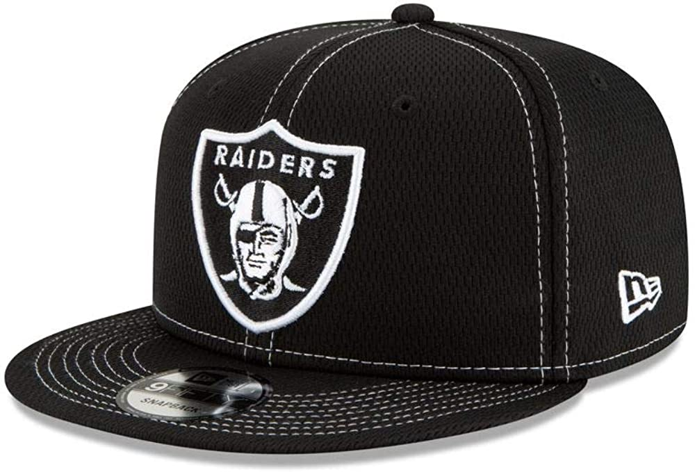 New Era NFL19 SL RD 9Fifty Snapback Casquette Oakland Raiders Noir