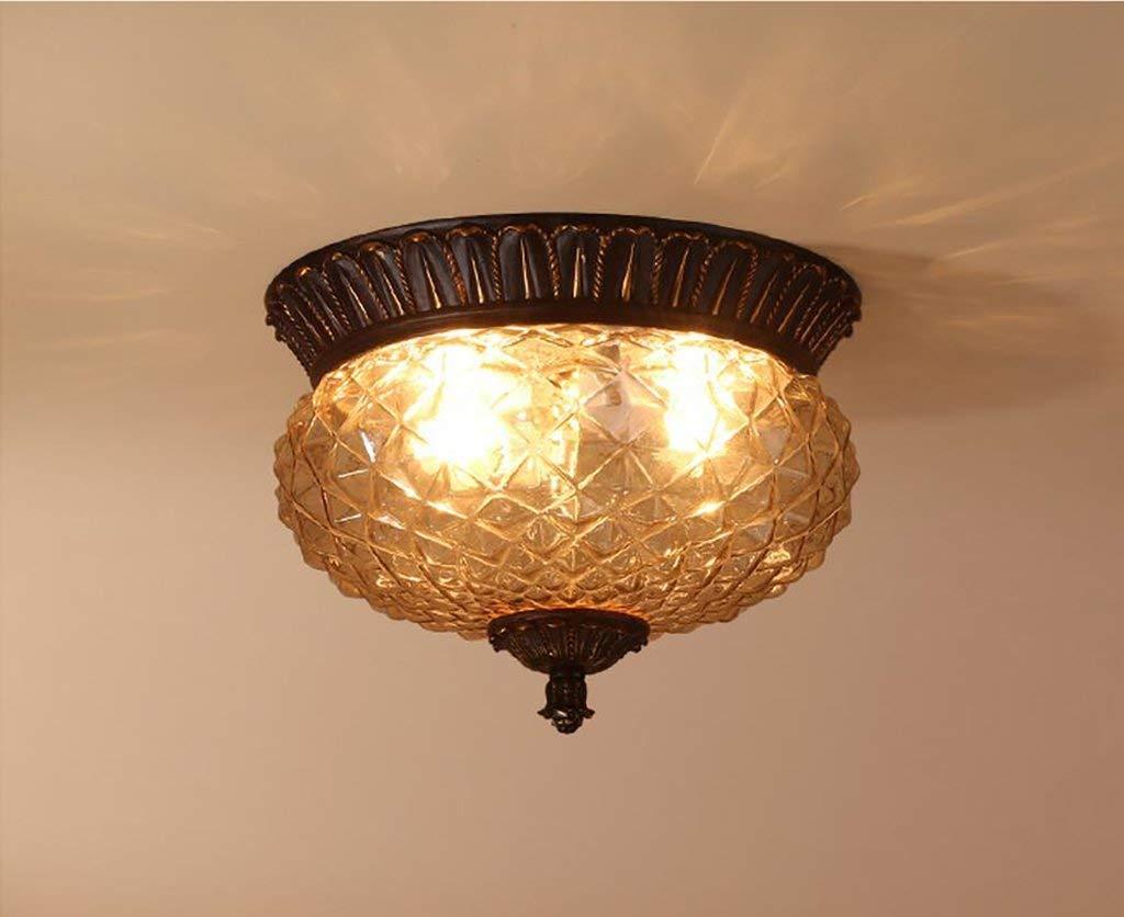 YG Ceiling Light European-Style Ceiling Lamp Aisle Lights Retro American Corridor Lights Balcony Lights