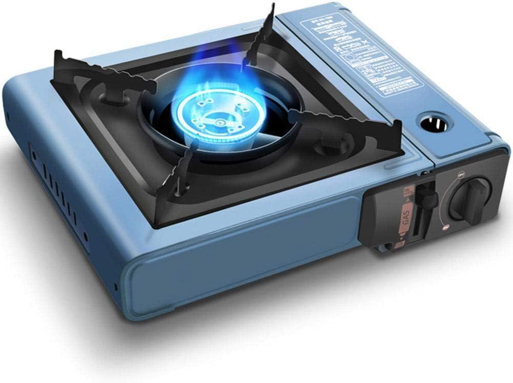 Paradesour Cassette Horno portátil al Aire Libre, Estufa de Gas para el hogar, Barbacoa, Camping, Picnic, Barbacoa, Estufa de Camping