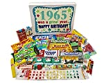 Woodstock Candy 1965 53rd Birthday Gift Box of Retro Nostalgic Candy from Childhood for a 53 Year Old Man or Woman …