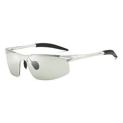 TLMY Vidrios De Color Polarizados De Uso Dual Día Y Noche Gafas De Sol Polarizadas con
