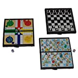 Globatek Mini Pocket Travel Travelling Ludo Game Board Toy by Globatek
