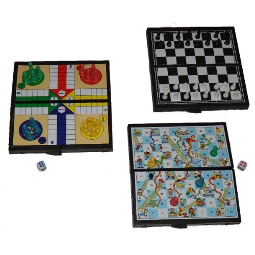 Globatek Mini Pocket Travel Travelling Ludo Game Board Toy by Globatek by Globatek