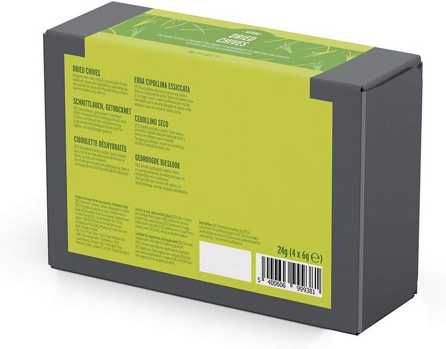 Marca Amazon - Happy Belly - Cebollino seco, 4x6g: Amazon.es ...