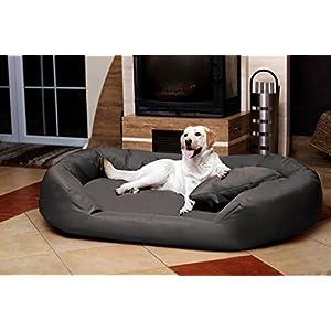Petitude Reversable Dual Ultra Soft Ethenic Designer Velvet Bed for Dog & Cat – XXL Grey