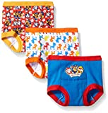 Nickelodeon Toddler Boys' Paw Patrol Boy 3pk Training Pant, Assorted, 3T