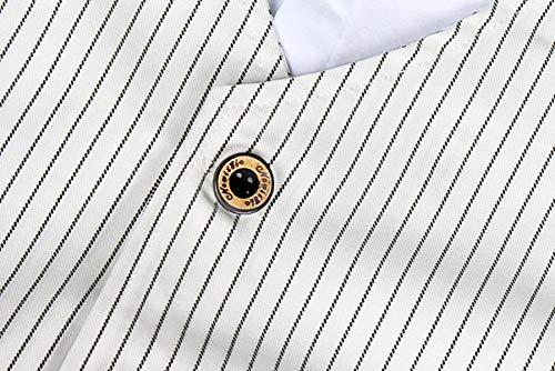 AmzBarley Gentleman Abiti Bambini Formale Camicia Pantaloni Giubbotto Cravatta Set di Vestiti Bimbo Ragazzi per Festa… 4