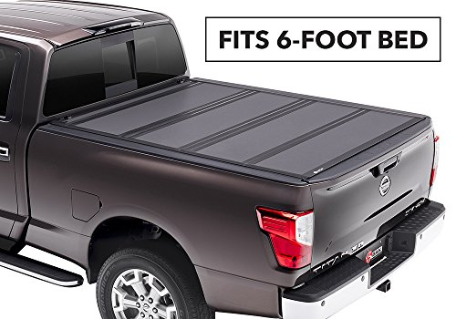 ip MX4 Hard Folding Truck Bed Cover 448507 2005-16 NISSAN Frontier 6' With or W/O Track System (6'6' Bed Body Kit)