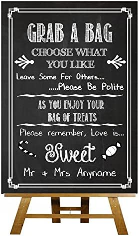 De fotos con pizarra y Vintage caja para de caramelos con frases ...