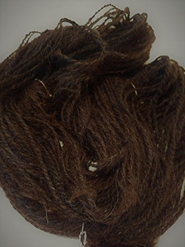 Handspun yarn- art yarn- alpaca yarn- Alpaca -1 skein 124yds- knitting- knit- knitting supplies- crochet- felting- wool- (Handspun Alpaca)