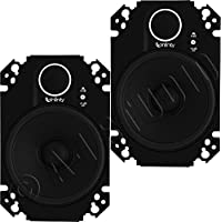 Infinity Kappa 4x6 2-Way Loudspeakers-Pair (Black)