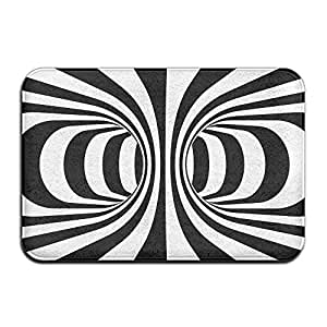 amazon huvatt black and white spiral home door mat super Rug Doctor Advertisements rug pads