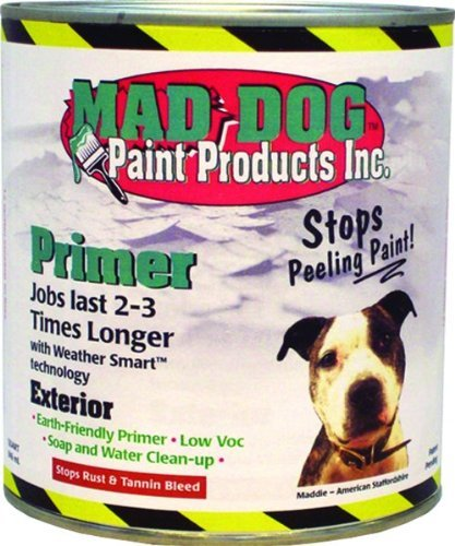 MAD DOG MDP025 QT Clear Exterior Primer Stops Peeling Rust and Tannin by Mad Dog