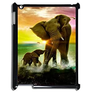 YCHZH Phone case Of Cute elephant Cover Case For IPad 2,3,4