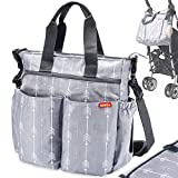 Diaper Bag for Baby By Zohzo - Diaper Tote Bag With