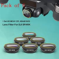 Gotd MCUV/CPL/ND4/ND8/ND16 /ND32 For DJI SPARK Drone Gimbal Camera HD Lens Filter