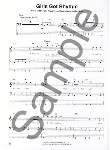 Bass Play-Along Volume 40: AC/DC. Partituras, CD para Guitarra ...