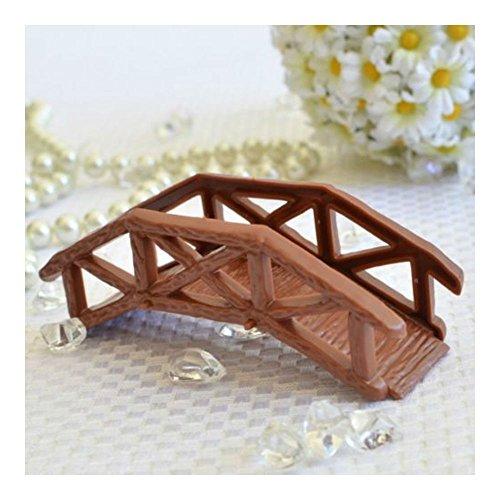 Wooden Garden Bridge Cake Topper Craft DIY Model Projects - Bridge Andrews