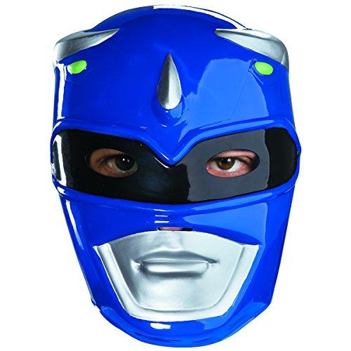Blue Ranger Mask Costume (Blue Ranger Vacuform Adult Mask)