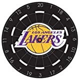 NBA Los Angeles Lakers 18'' Bristle Steel Tip Dart Board-Limited Quantity!!