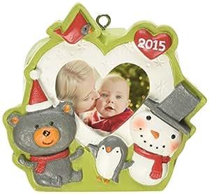 Amazon.com : Hallmark Recordable Christmas Tree Ornament ...