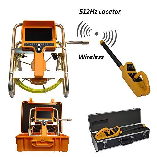512Hzロケータパイプライン検査カメラシステム512hz送信機と受信機DVRビデオ録画 20M
