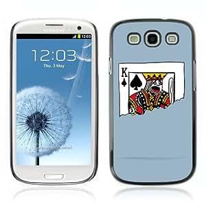 YOYOSHOP [Funny Playing Card Illustration] Samsung Galaxy S3 Case