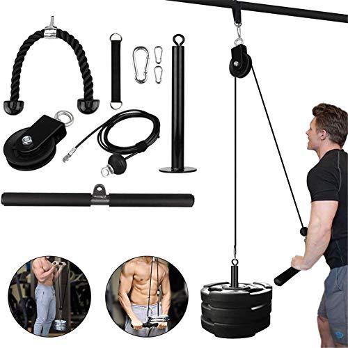 Katrol Kabel Systeem Machine, Fitness Katrol Kabel Machine Professionele Spiersterkte Fitnessapparatuur Onderarm Pols…