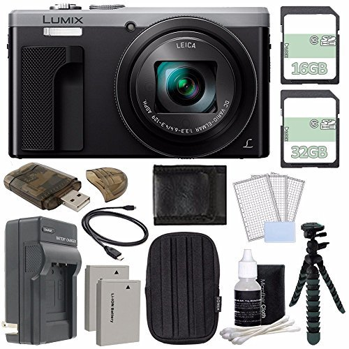 Panasonic Lumix DMC-ZS60 Digital Camera  + 32GB + 16GB + Rec