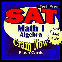 Amazon com: SAT Prep Test MATH LEVEL I Part 1 - ALGEBRA